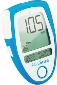 AccuSure Blood Glucose Monitor